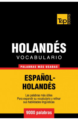 Vocabulario español-holandés - 9000 palabras más usadas