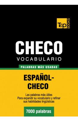 Vocabulario español-checo - 7000 palabras más usadas