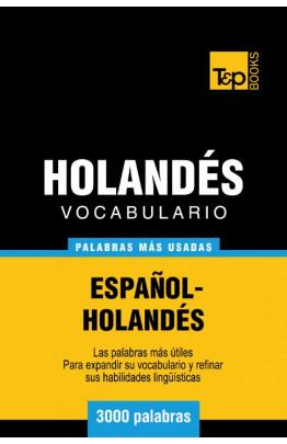 Vocabulario español-holandés - 3000 palabras más usadas