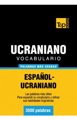 Vocabulario español-ucraniano - 3000 palabras más usadas